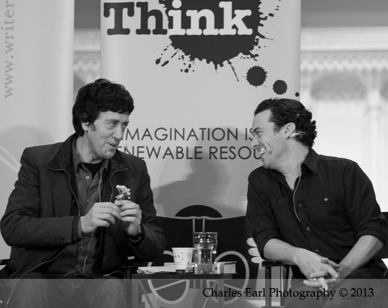 Michael Winter and Joseph Boyden