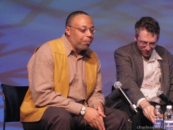 George Elliot Clarke and A.J. Levin